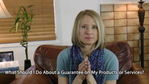 [Video] Flip It! Should I Offer a Guarantee on My Products or Services?