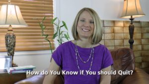 [Video] Flip It! How Do You Know If You Should Quit?