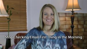 [Video] Flip It! Stop Checking Email First Thing in the Morning