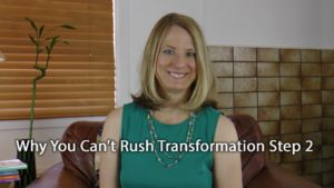 [Video] Flip It! Why You Can't Rush Transformation Step 2